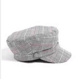 Forever 21 Plaid cabby hat